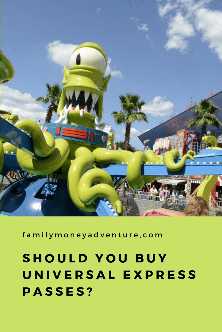 We examine whether its a good idea to buy Express Passes at Universal Studios Orlando for your family.