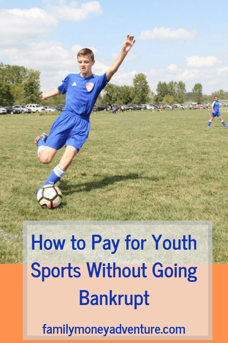If you have kids playing sports, you know the costs add up quickly. Find out how to pay for youth sports fees without going crazy!