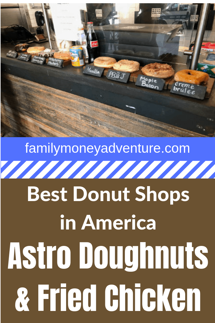 Our review of Astro Doughnuts & Fried Chicken in Washington D.C. Astro Doughnuts is one of the best donut shops in America.