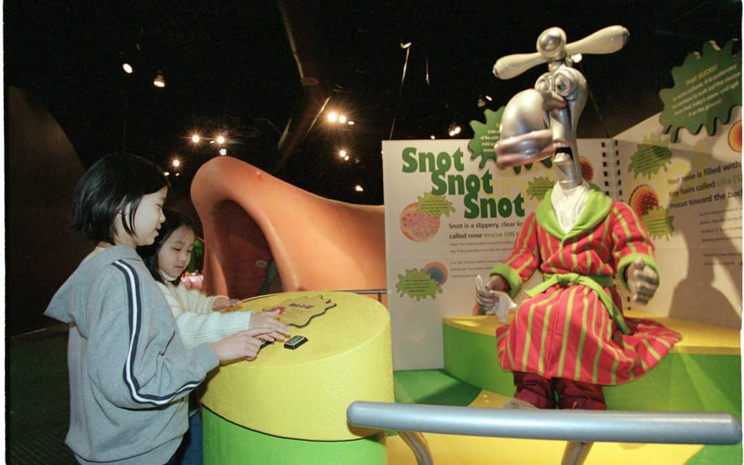 Great Lakes Science Center Ticket Giveaway & Grossology Exhibit