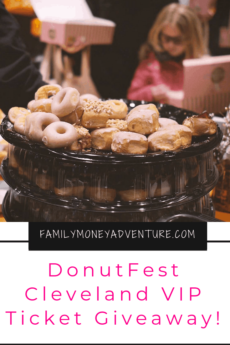 Become A Donut VIP With Our Donut Fest Cleveland VIP Ticket Giveaway!