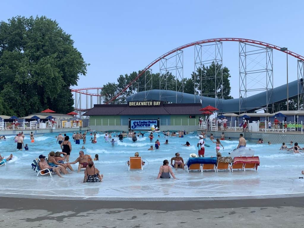 Cedar Point Shores Wave Pool