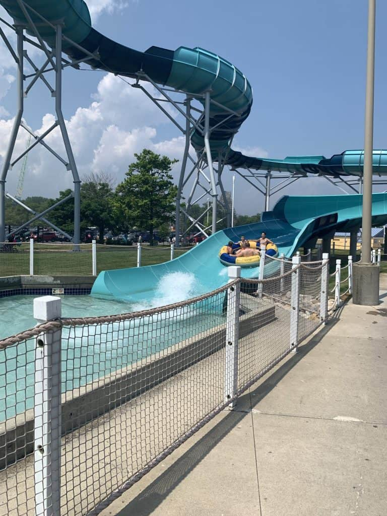 Storm Surge water slide