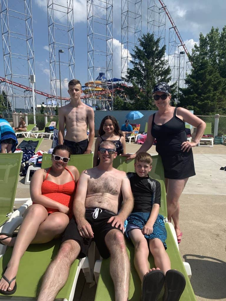 Family Photo at Cedar Point Shores