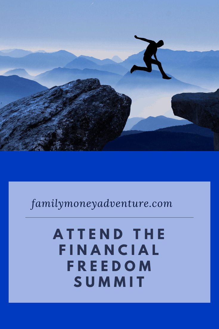 Join me in attending the Financial Freedom Summit in St. Louis on May 1st-3rd. Check out the detail in this post.